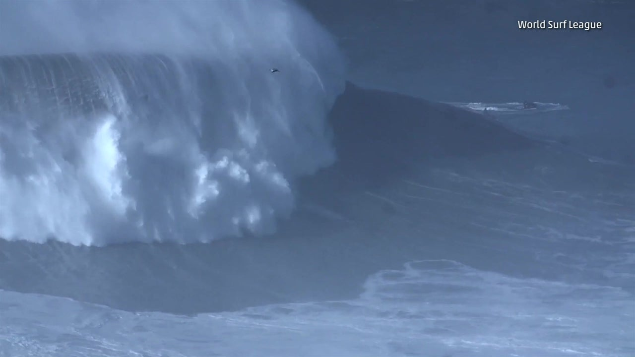 Surfer Breaks World Record for Highest Wave Ever Surfed