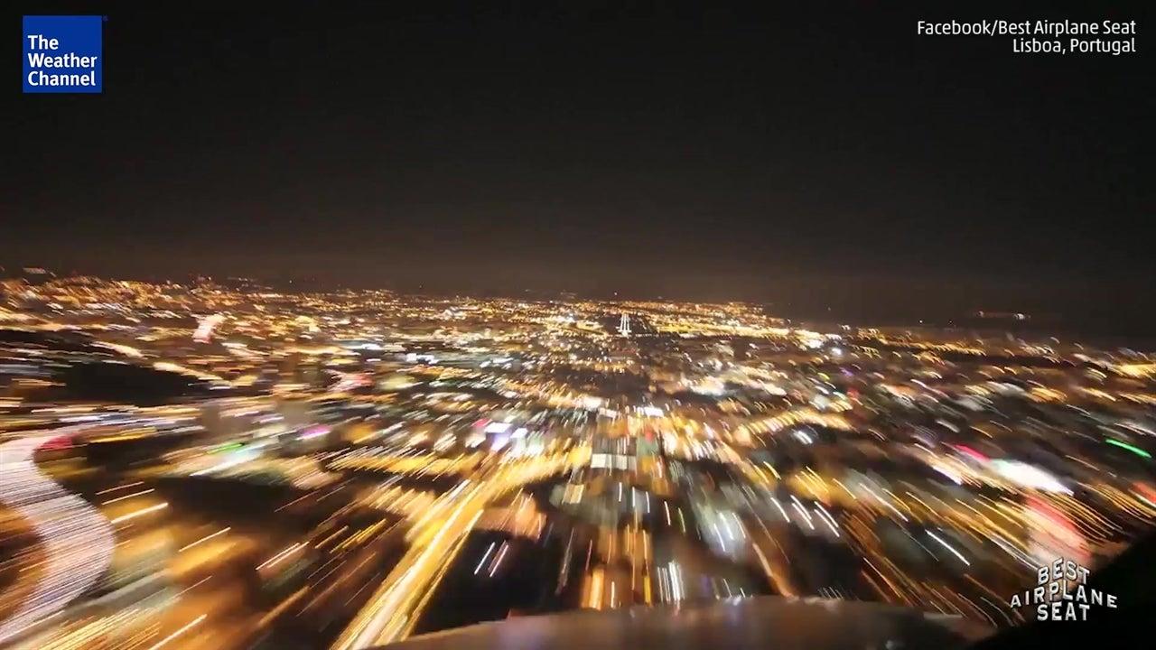 Time-lapse incrível de viagem entre Faro e Lisboa