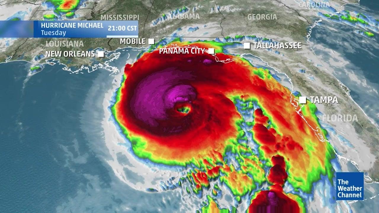 Ex-hurricane Michael: Storm leaves trail of destruction across the USA