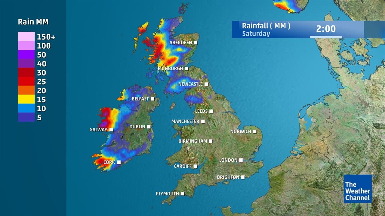 UK Weather: How much rain is on the way this week?