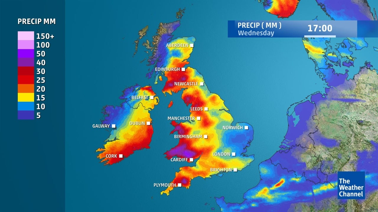 9 News Weather Map.Latest Uk Weather Forecast February 22 The Weather Channel