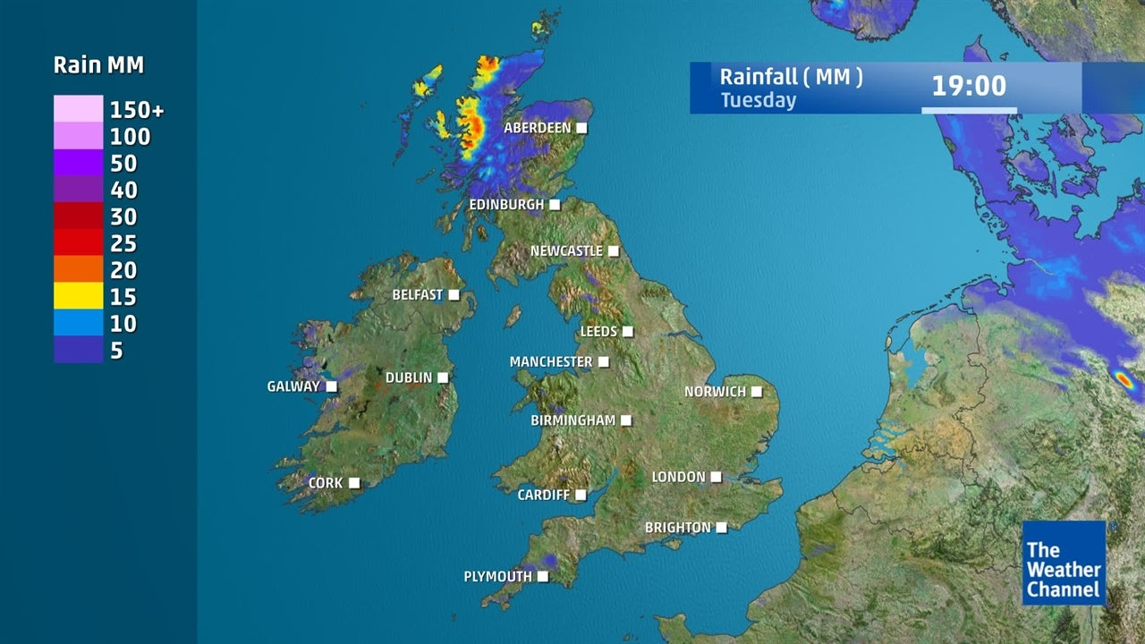UK Weather: Is it expected to rain today?