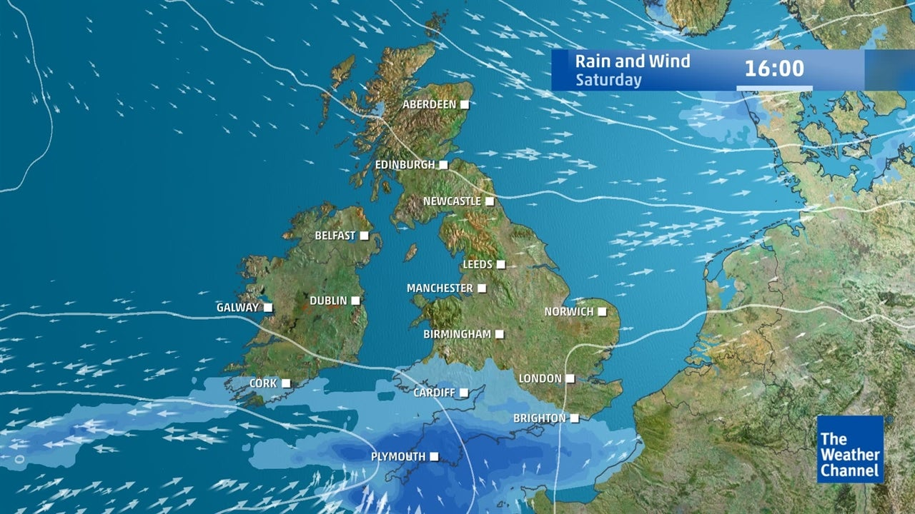 UK Weather: How much rain can be expected this weekend?