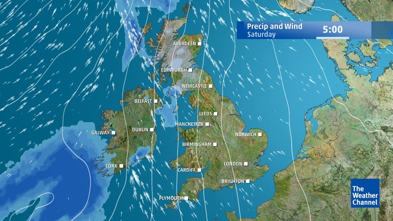 UK weather: How much rain is expected to fall this week?