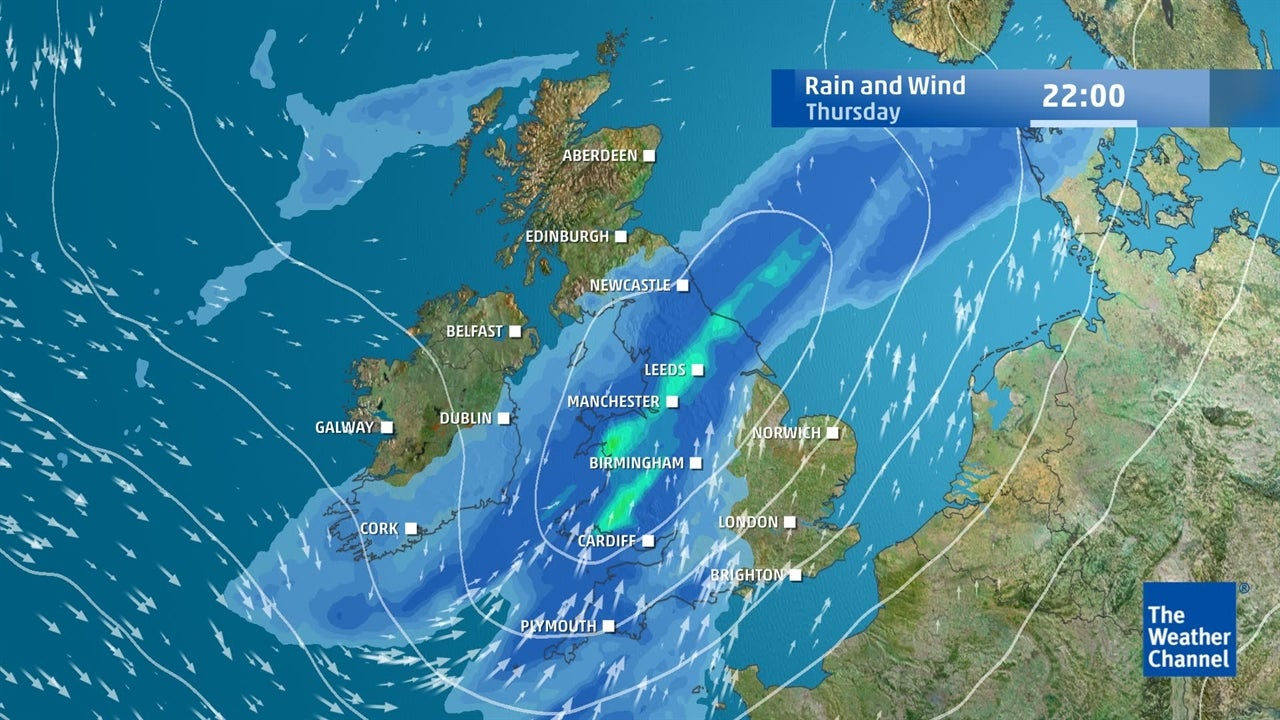UK weather: How wet and windy will it get?