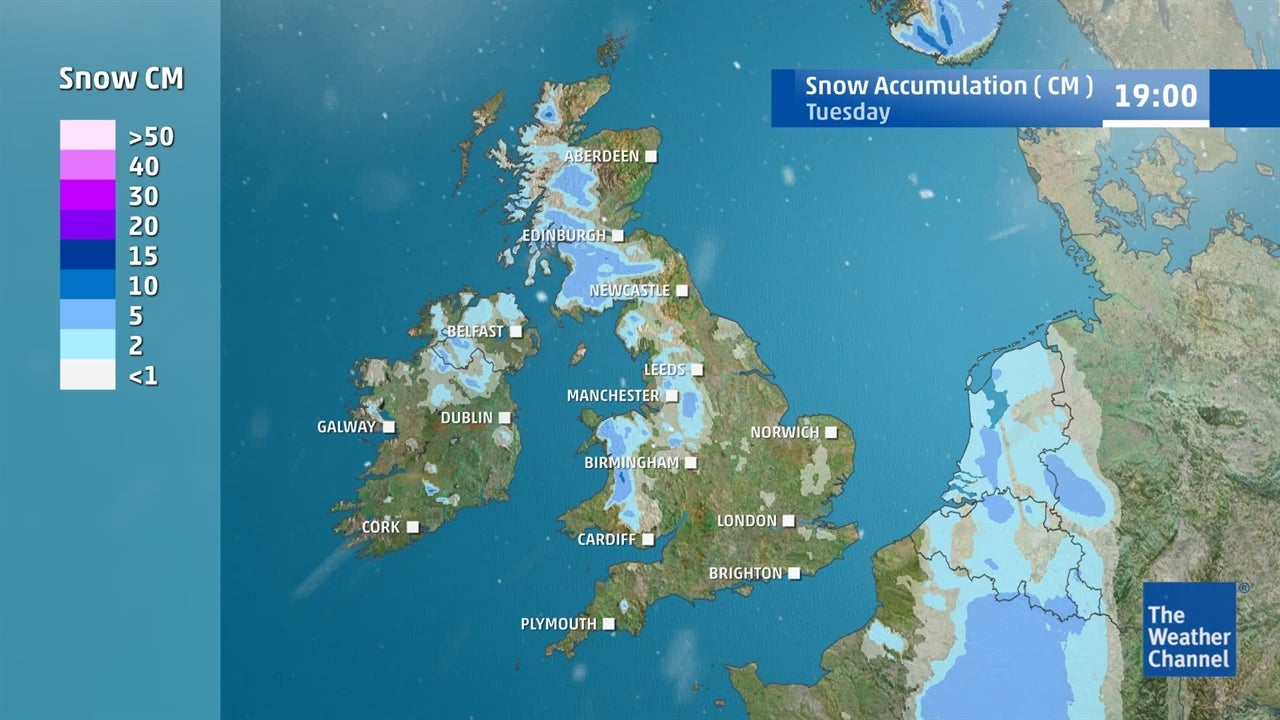 VIDEO: When and where will it snow this week?