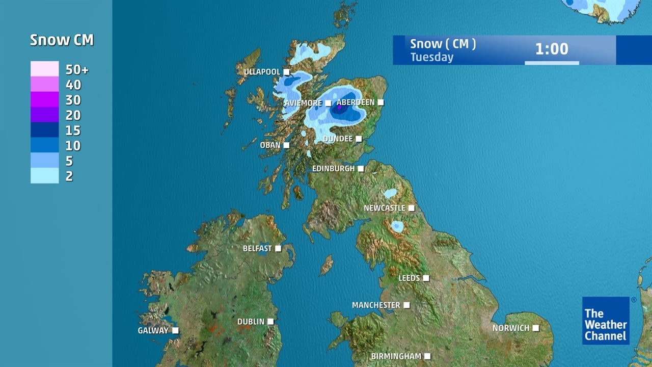 UK weather: Is it going to snow this week?