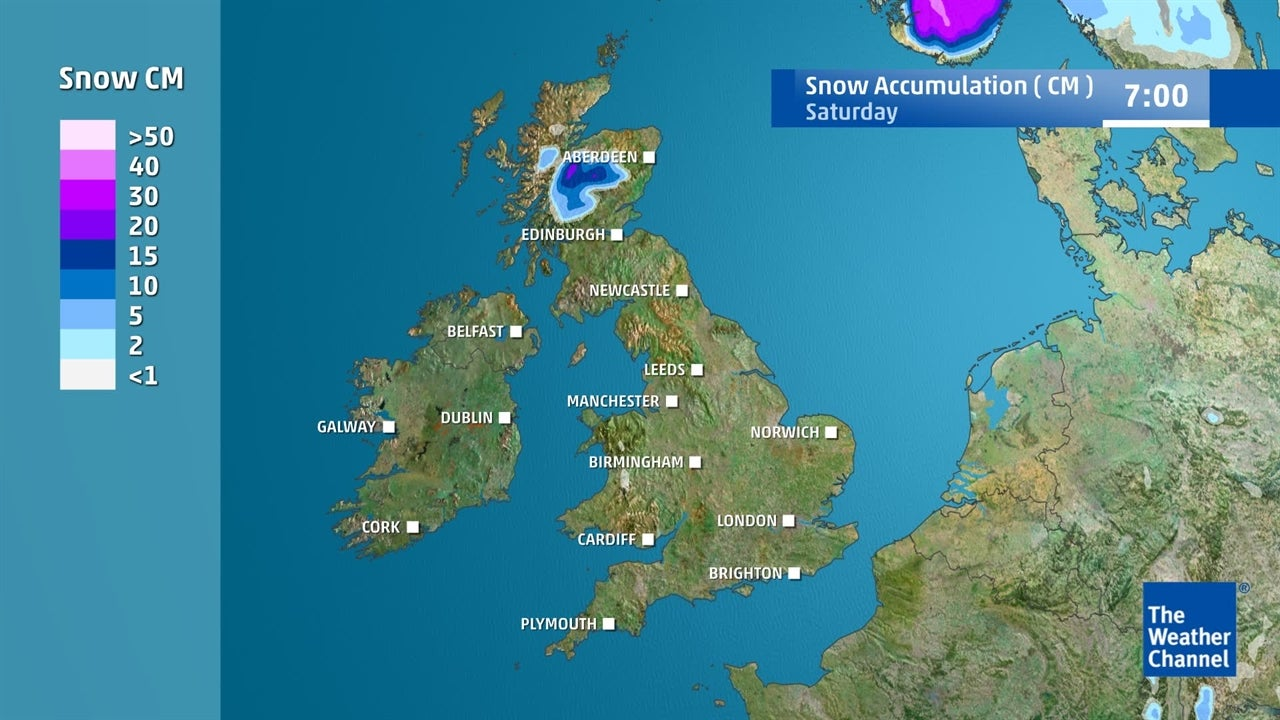UK weather: Will anywhere see any snow this week?
