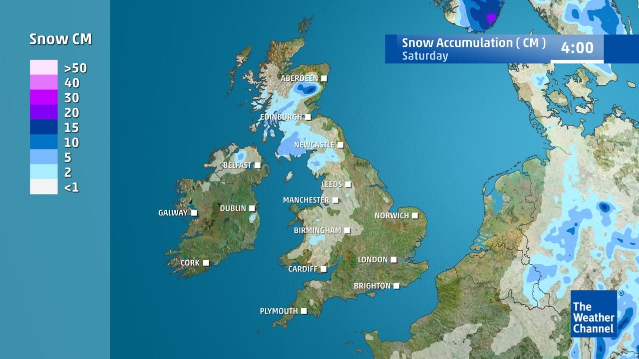 UK weather: Where will snow fall this week?