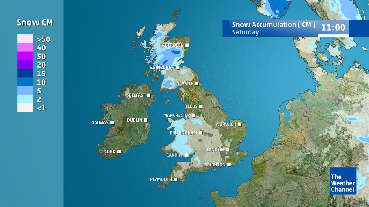 UK weather: Will there be much snow in the coming days?
