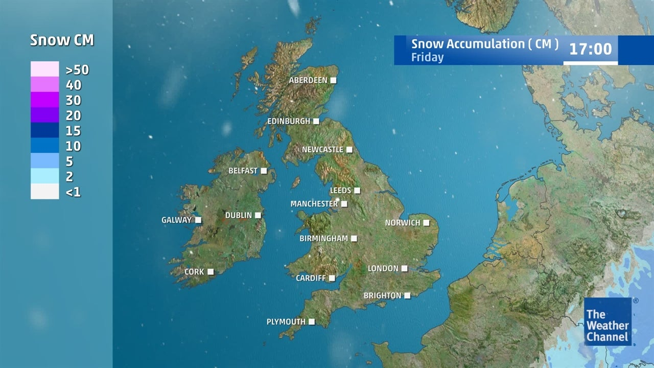 UK weather: Where and when will snow fall?