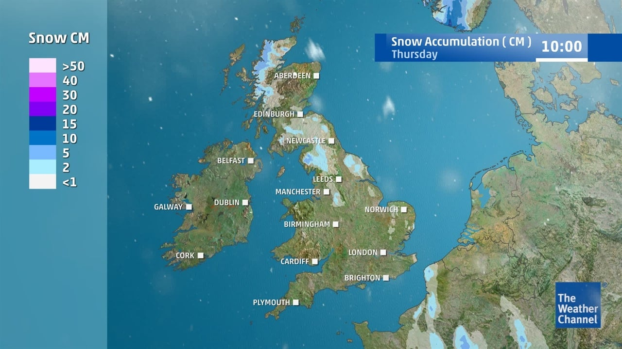 Is any more snow on the way soon?