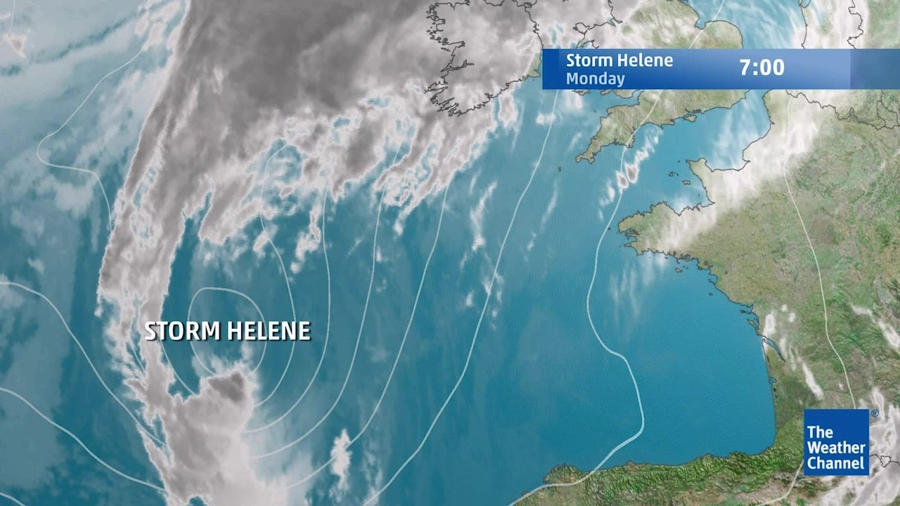 Storm Helene: What's in store for next few days?