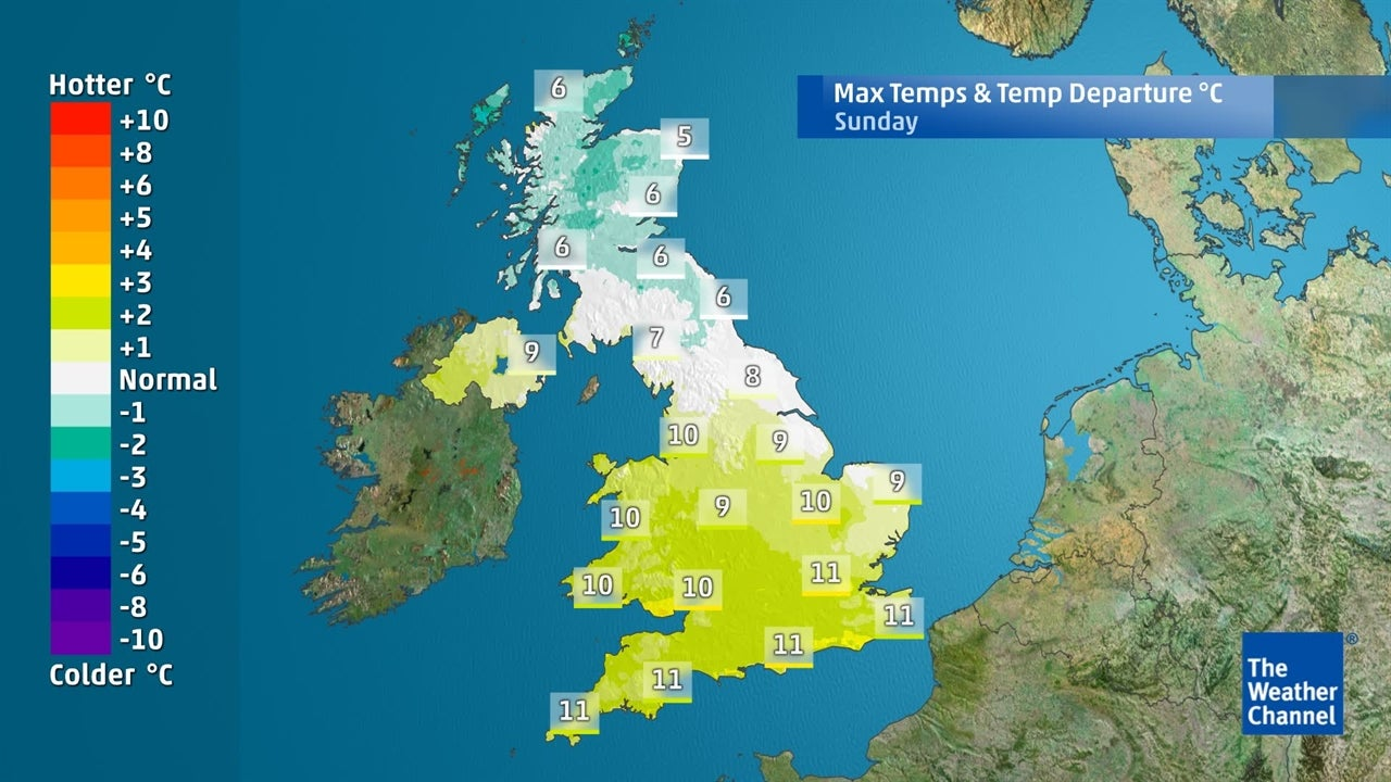 UK weather: Will it remain mild for the coming days?