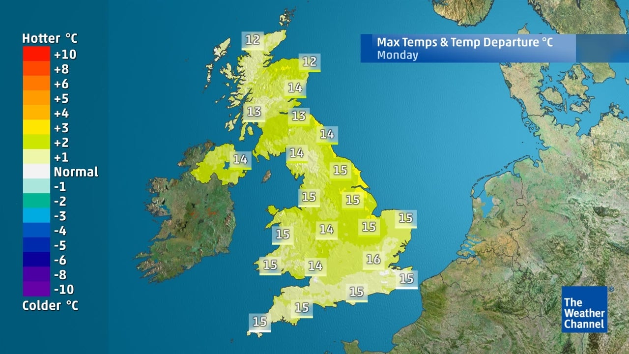 UK weather: How warm will it be this weekend?