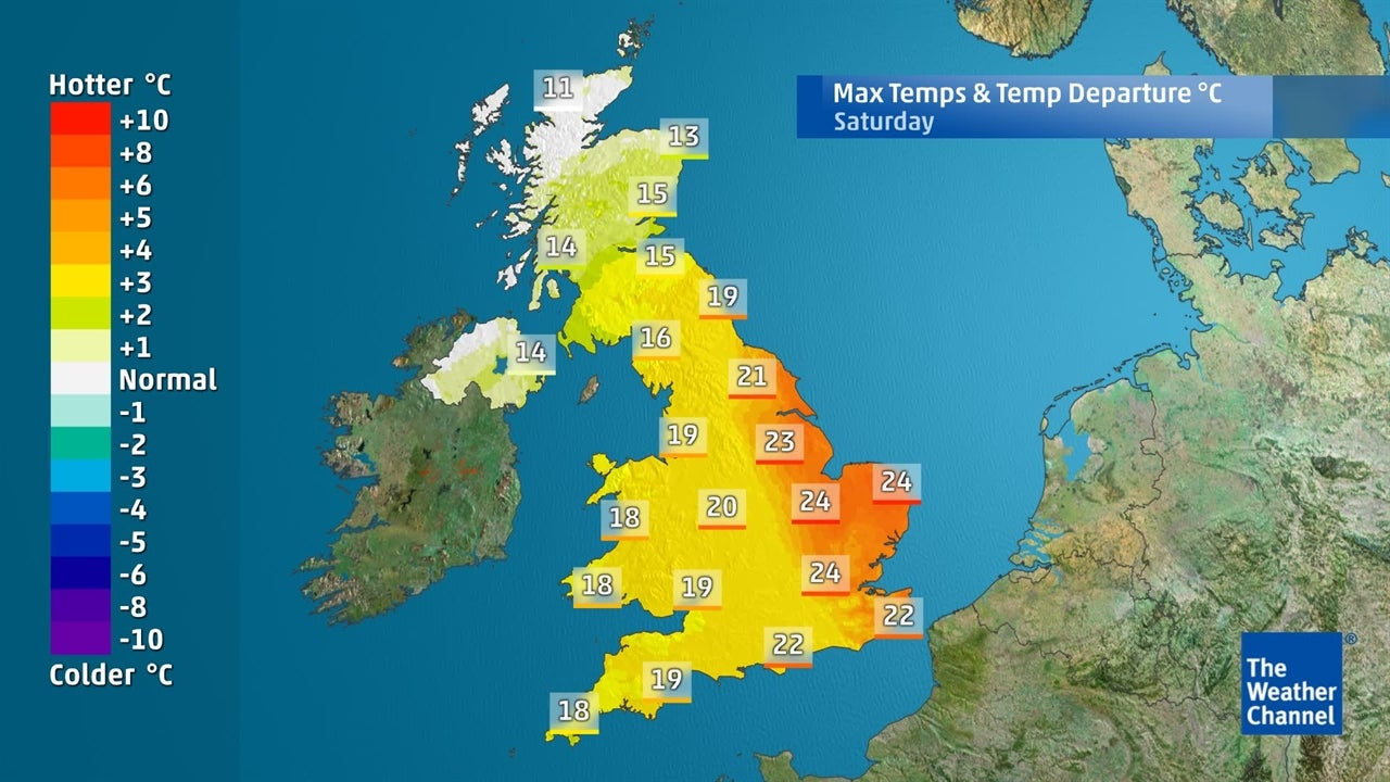 UK weather: Will it warm up again soon?