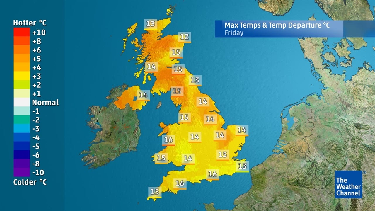 UK Weather: Will it remain mild until the weekend?