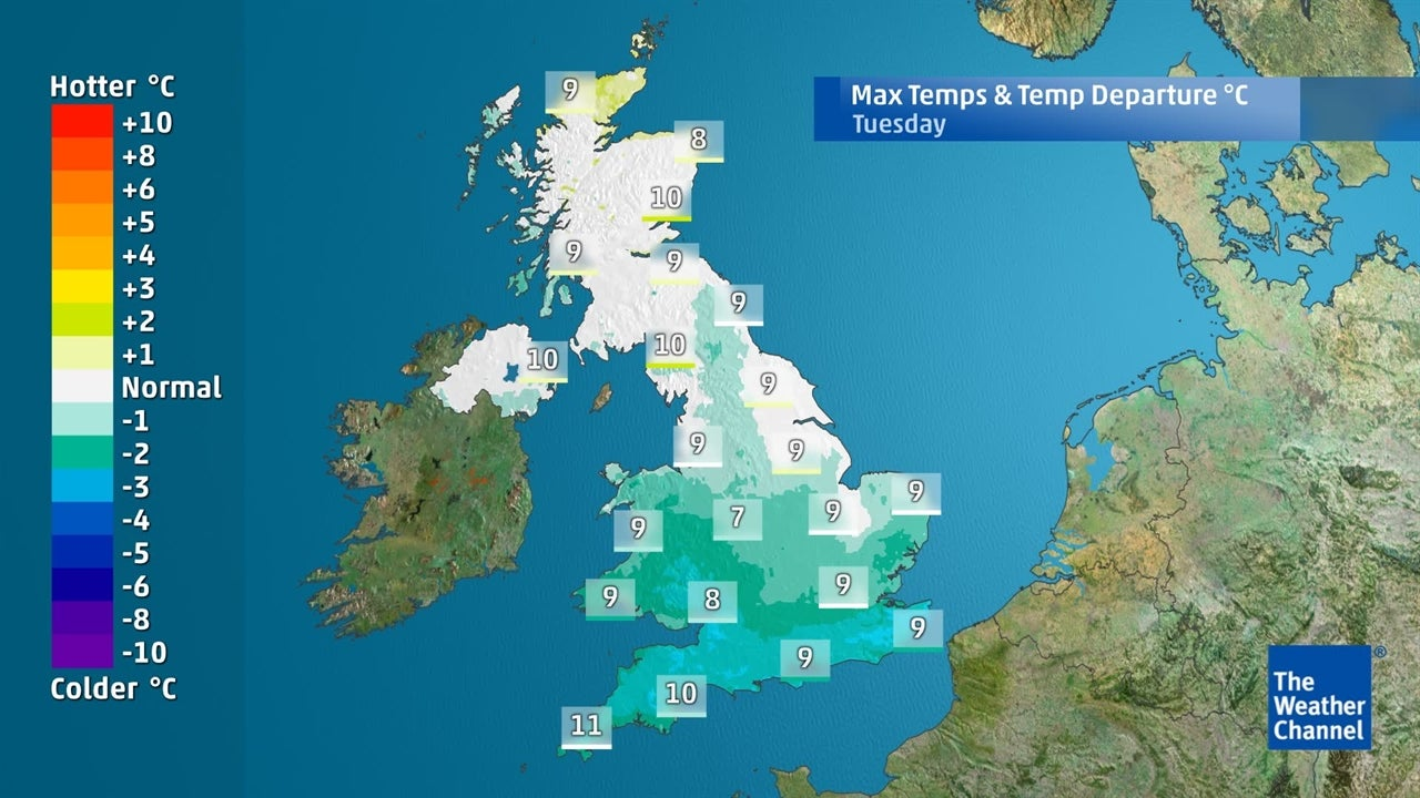 VIDEO: Temperatures starting to fall soon