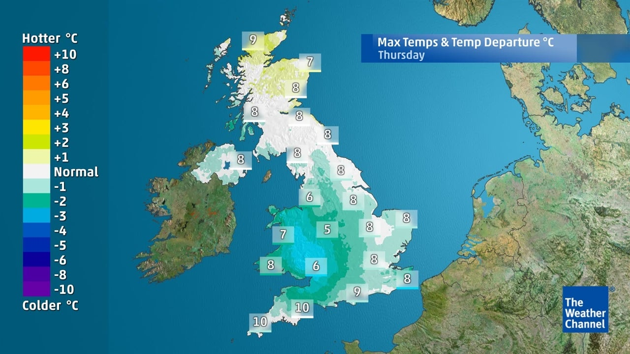 UK Weather: Will it remain cold for the next few days?
