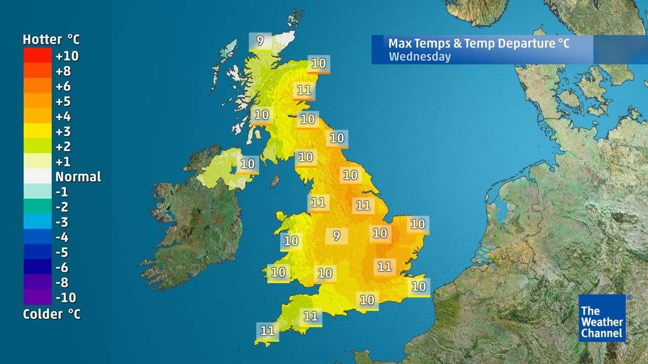 UK Weather: How low will temperatures sink?