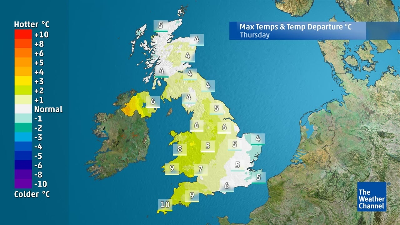 How high will temperatures climb this week?