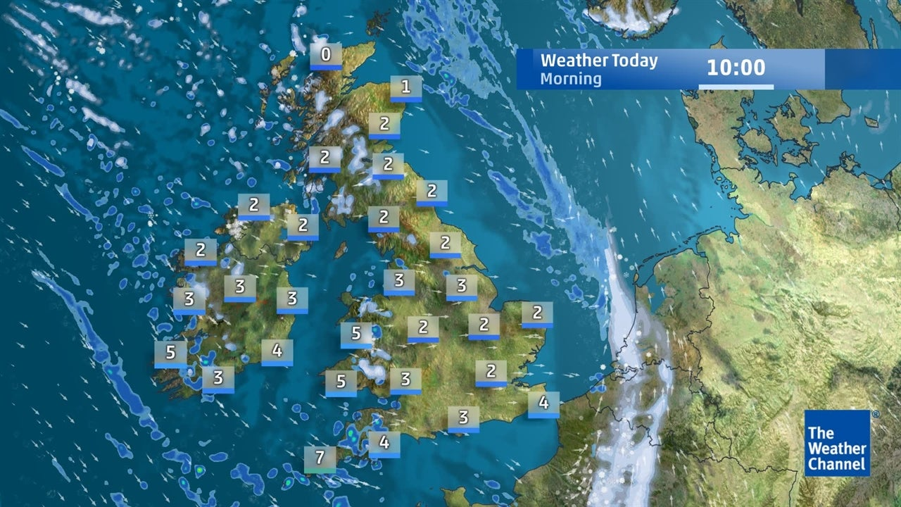 VIDEO: Latest UK weather forecast from January 22