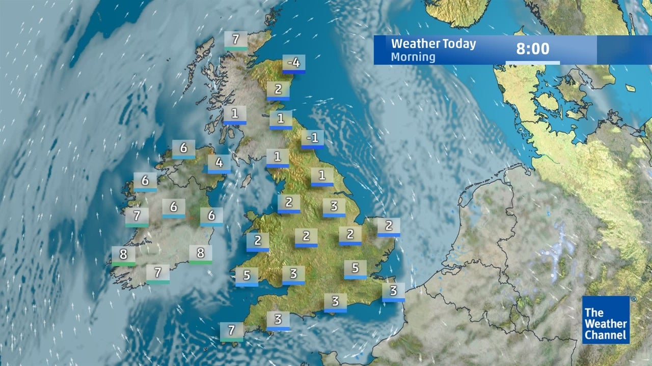 Today's forecast: Latest outlook for the UK