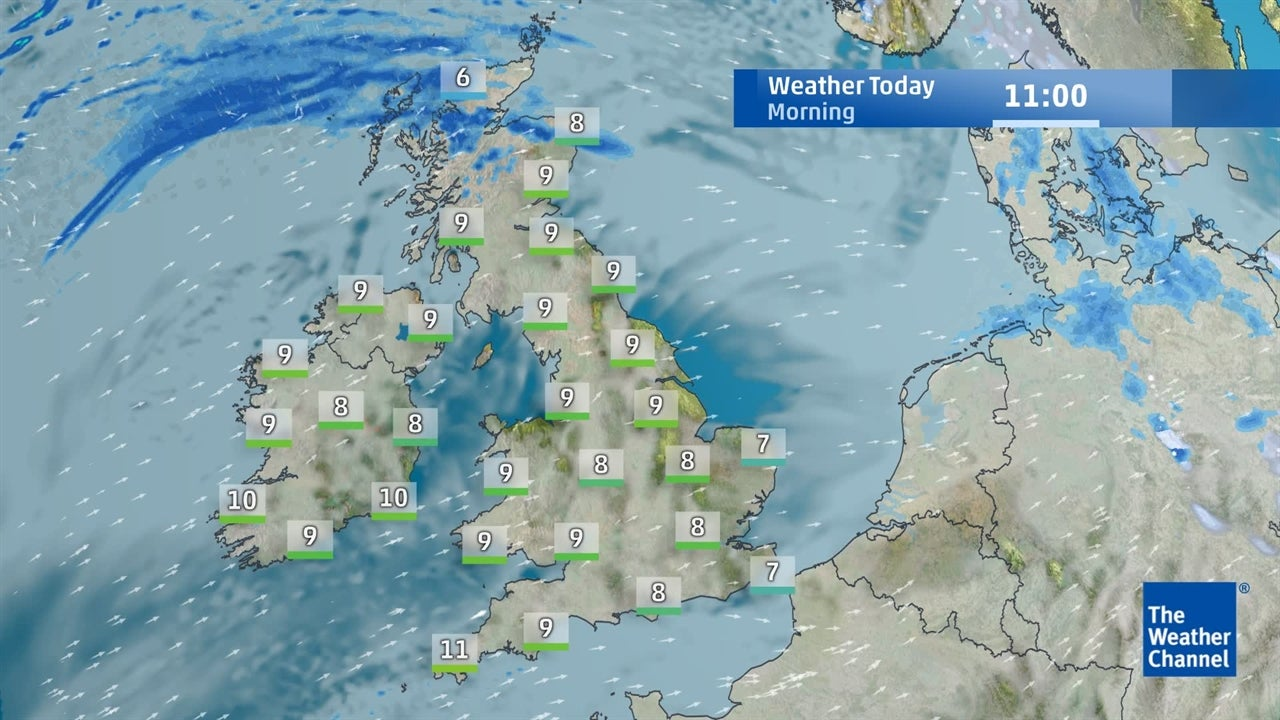 WATCH: Today's UK weather forecast - January 16