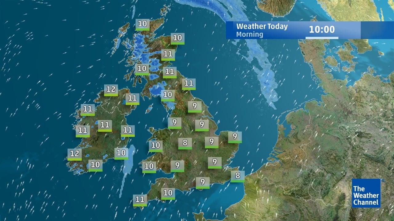 Today's UK weather forecast - February 20