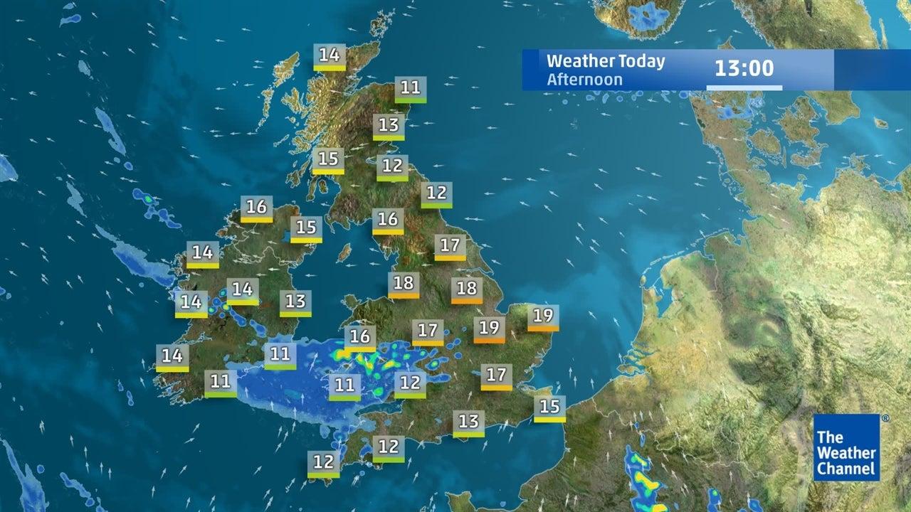 watch  today u0026 39 s latest uk weather forecast