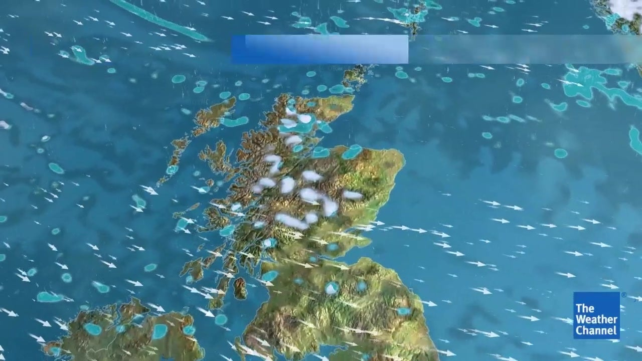 WATCH: Friday 15 March - 5 day forecast