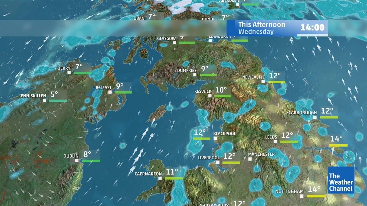 watch  today u0026 39 s uk weather forecast