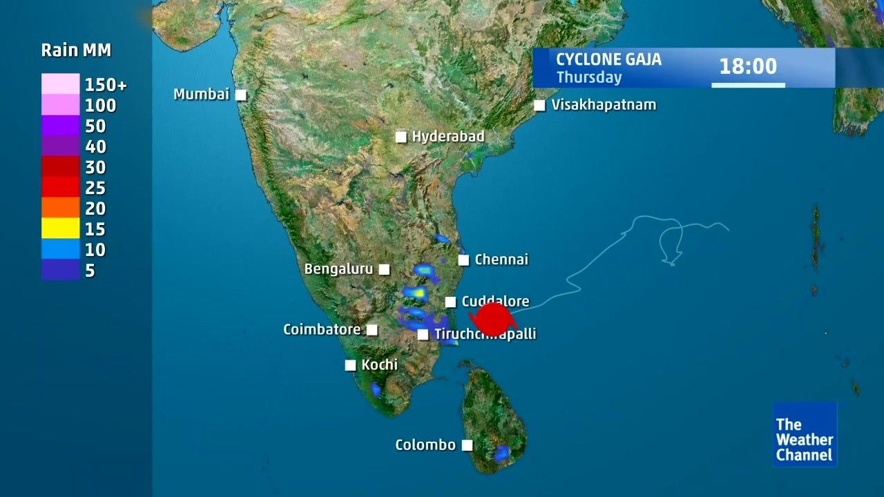 Rainfall Forecast Due to Cyclonic Storm Gaja
