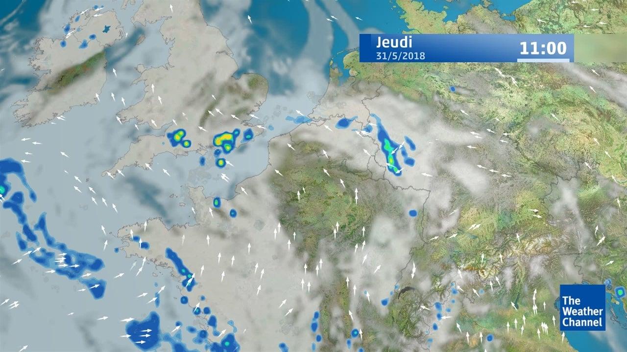 Roland-Garros : la météo du 31 mai