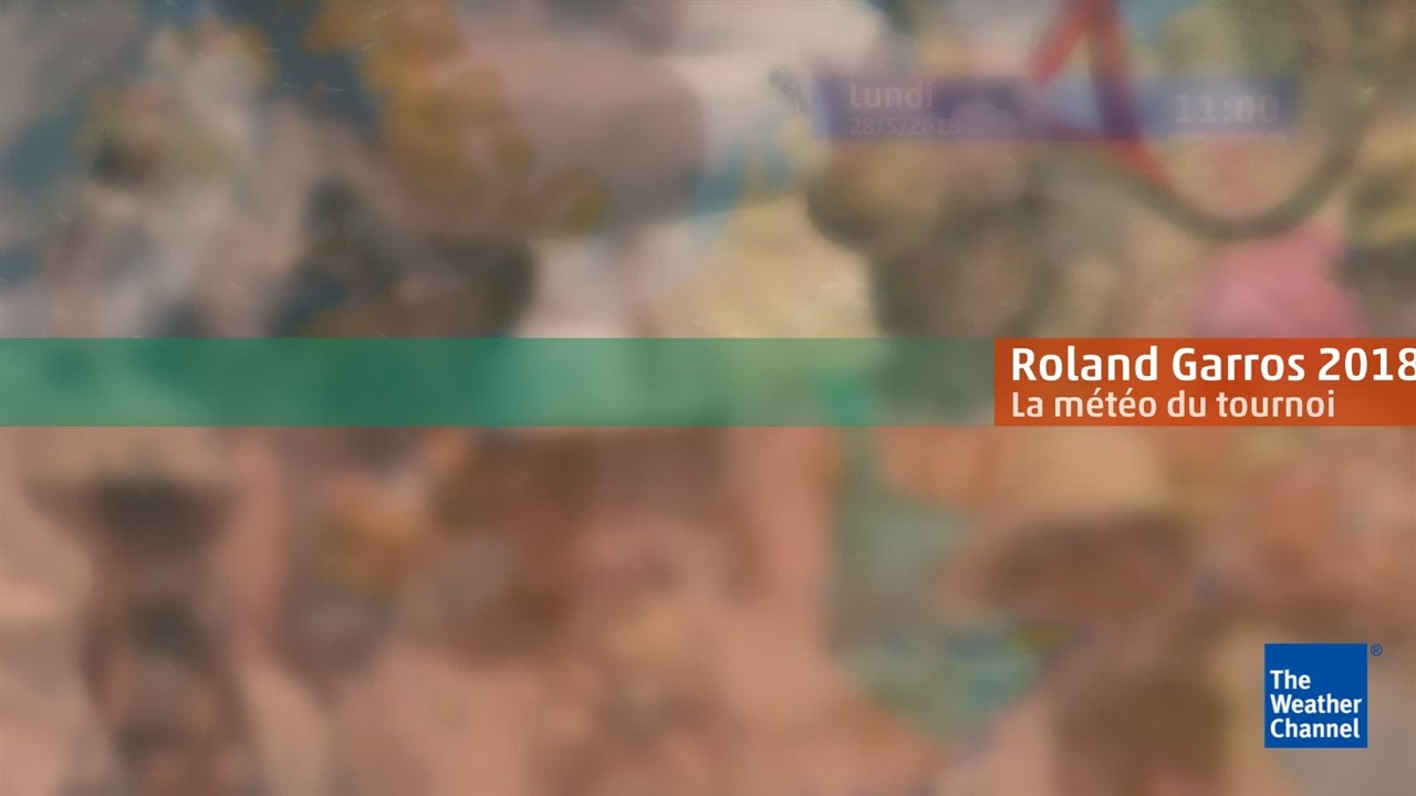 Roland-Garros : la météo du lundi 28 mai
