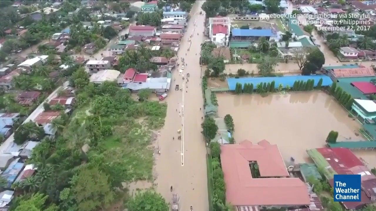 Dozens Dead in Philippines Typhoon