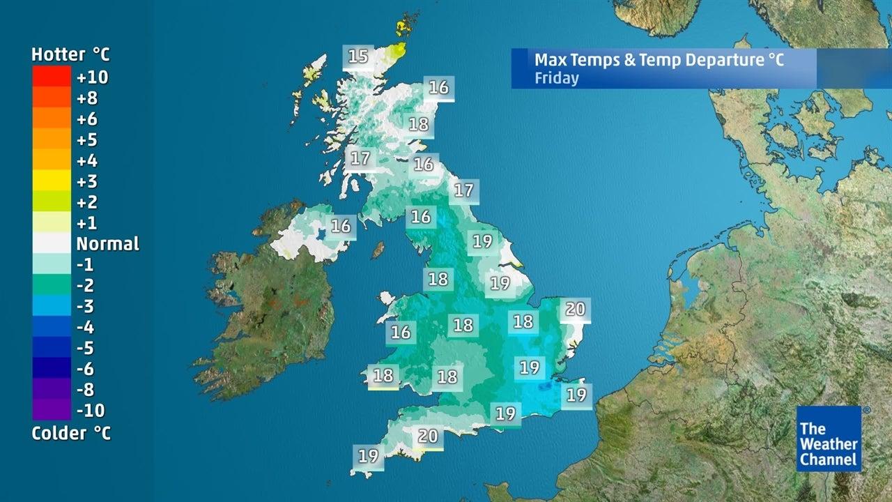 UK forecast: Will warmer weather return next week?