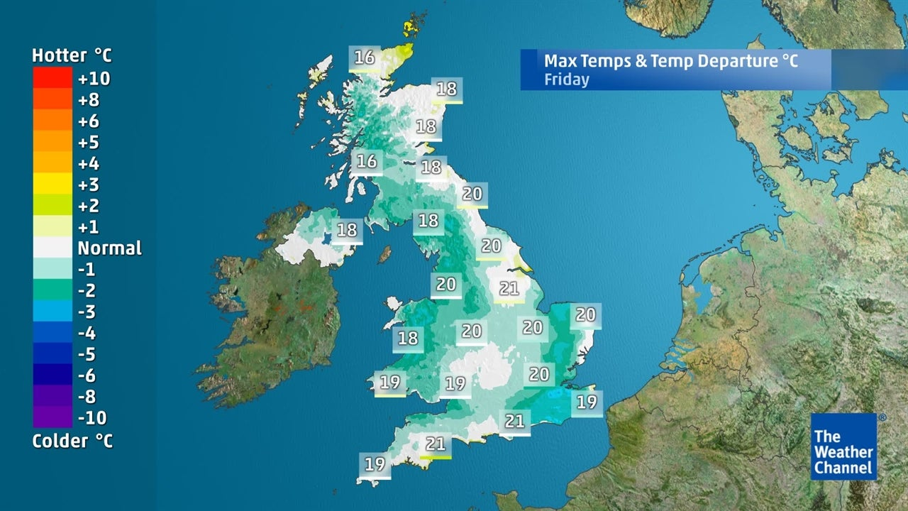 UK forecast: How low will temperatures fall this week?