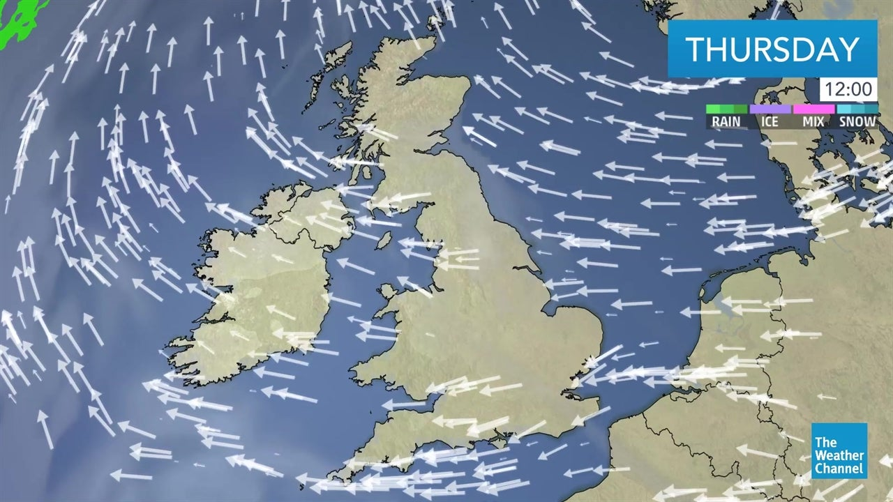 WATCH: Latest UK weather forecast - April 18