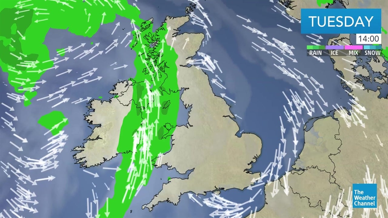 Here's the latest detailed UK weather forecast from April 30