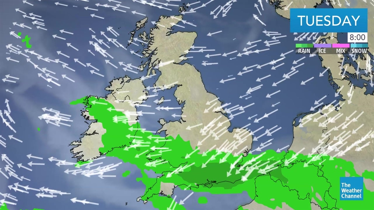 watch  latest uk weather forecast from april 9