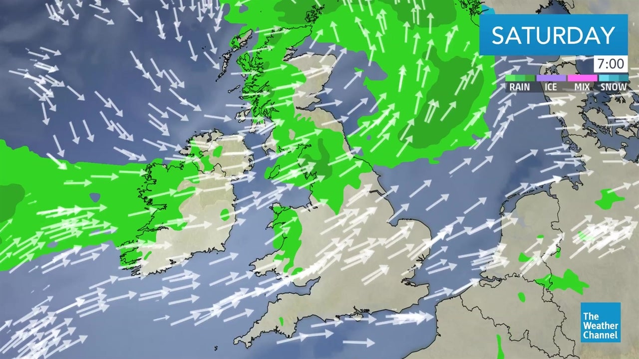 video  latest uk forecast for the weekend and beyond