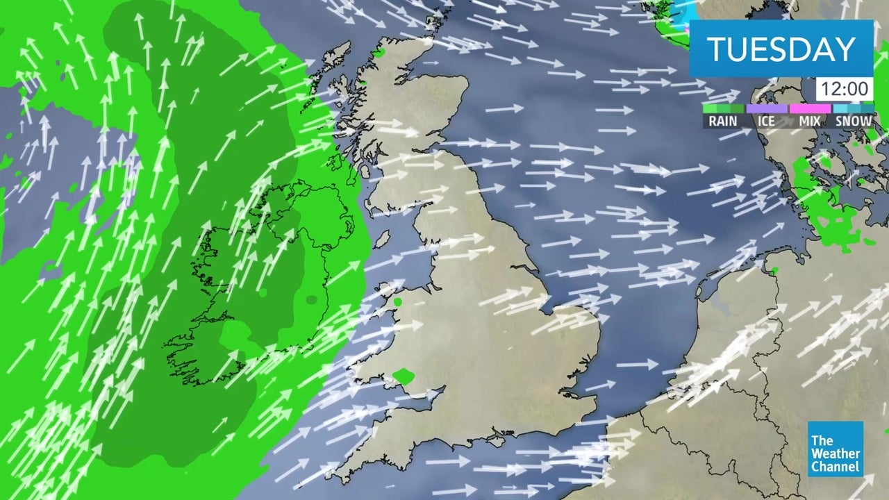 Latest UK weather forecast - February 19
