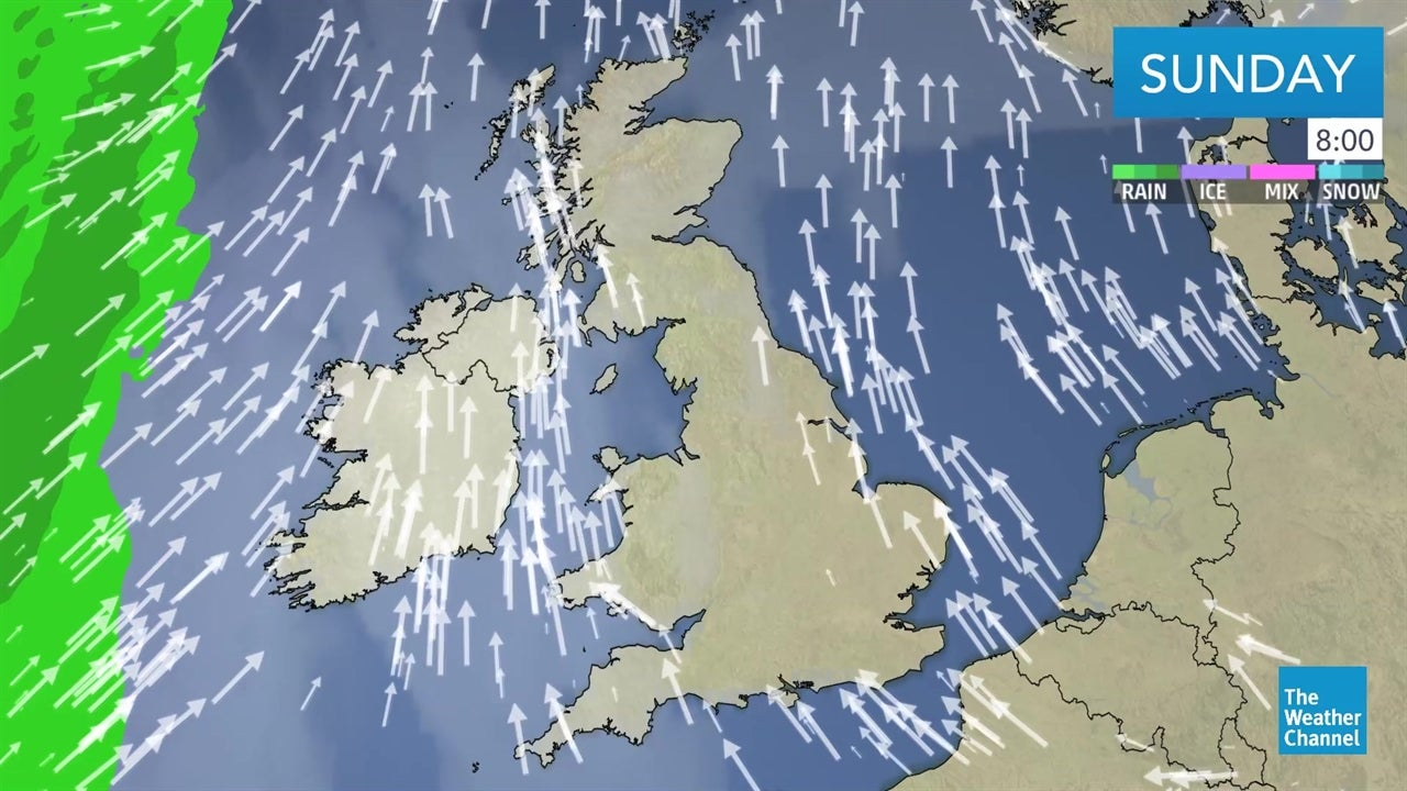 uk forecast  outlook for the weekend and beyond