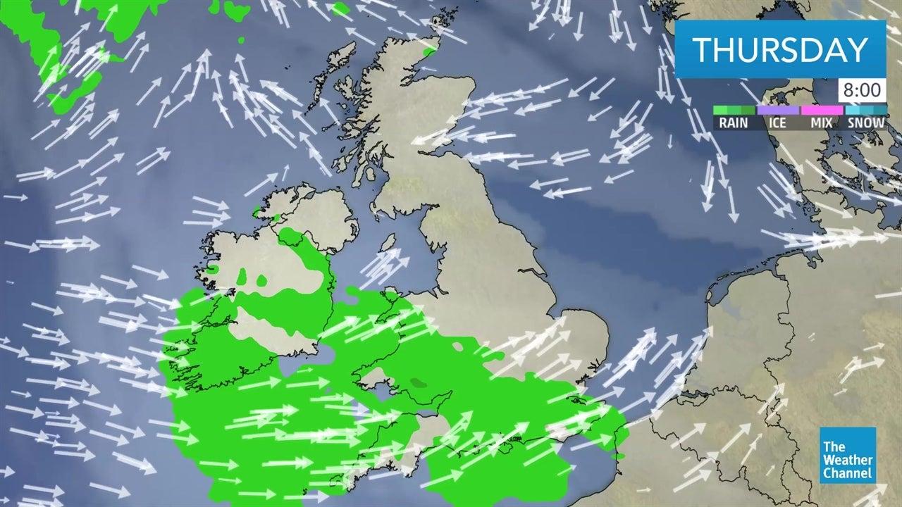 latest uk weather forecast