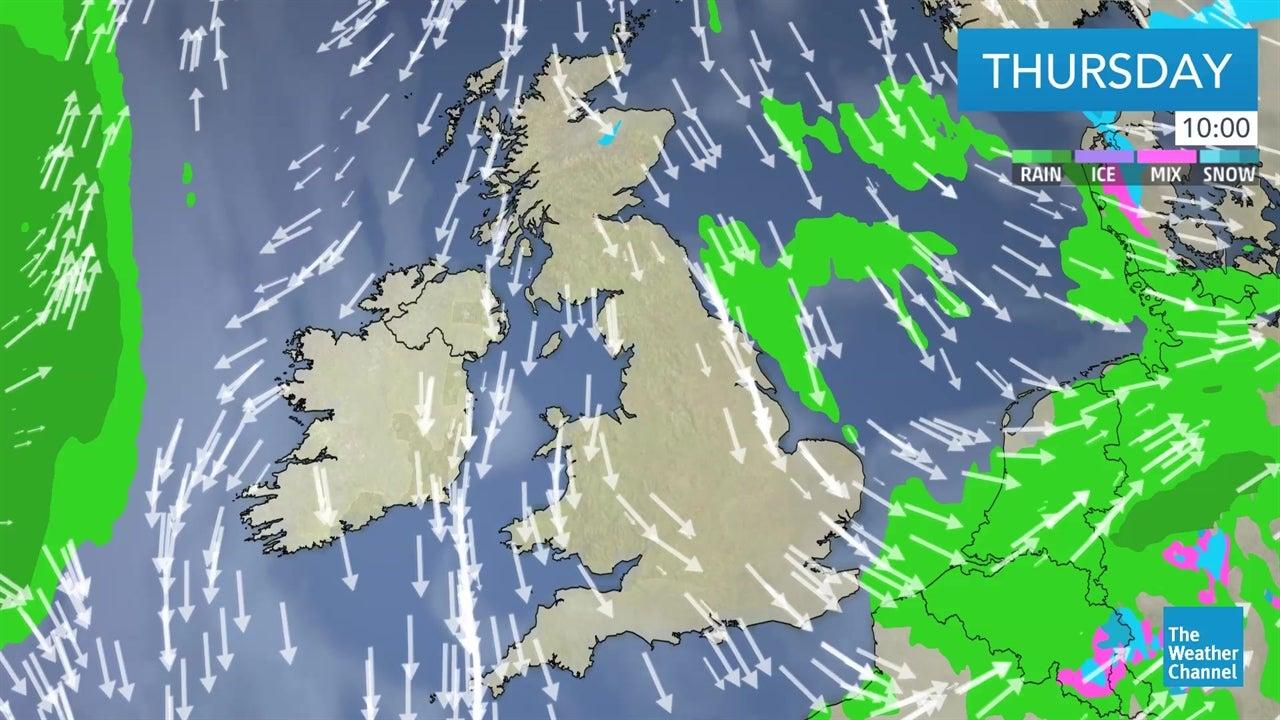 WATCH: Latest UK weather forecast - January 17