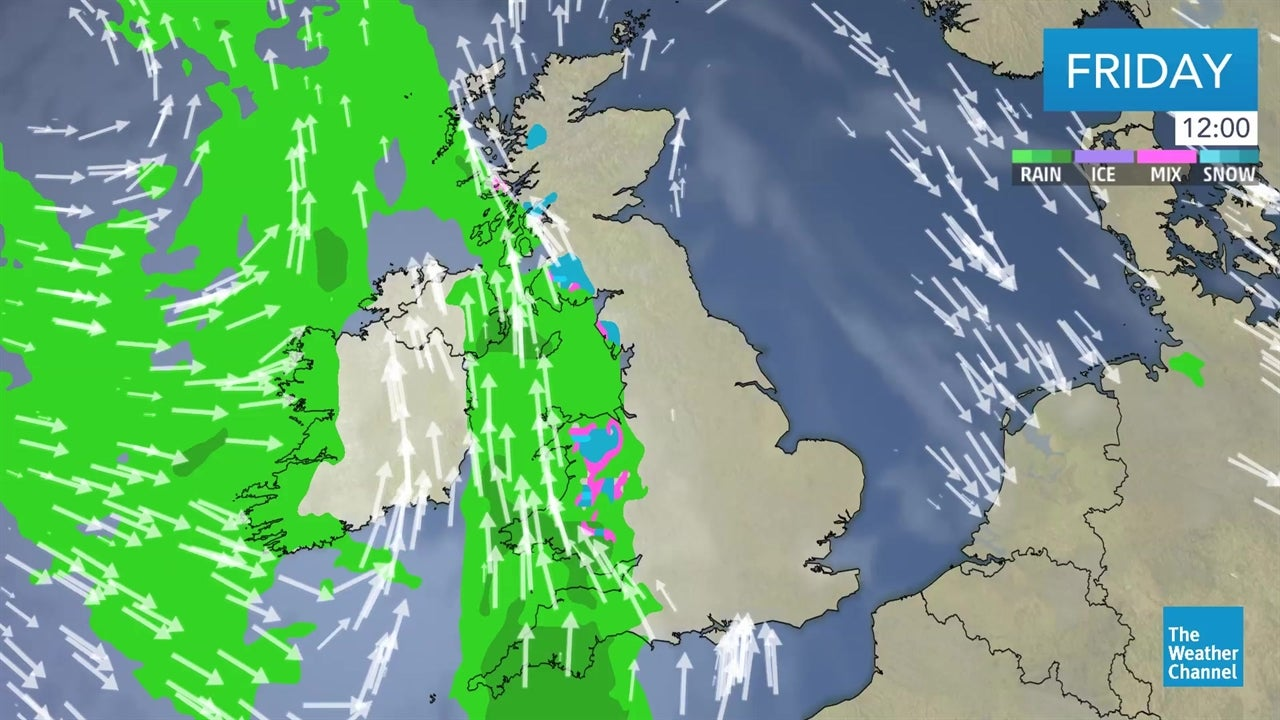 WATCH: Latest UK weather forecast - January 18