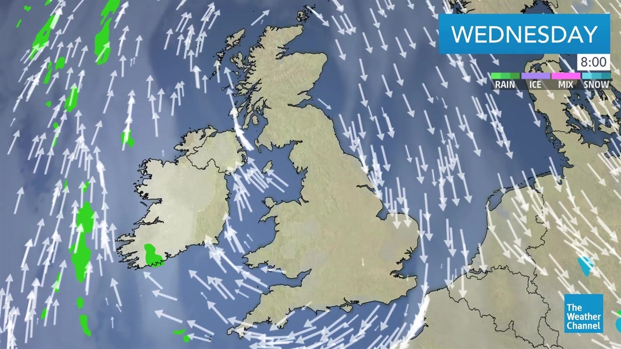 watch  latest uk weather forecast from january 2