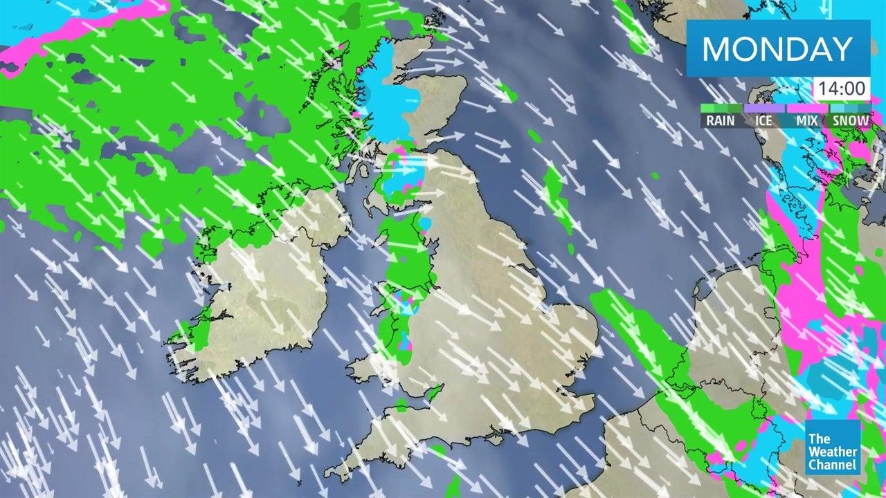 today u0026 39 s uk weather forecast