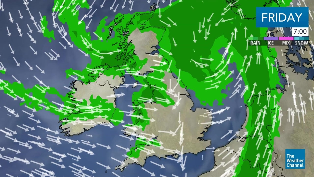 WATCH: Latest outlook for the UK and Ireland